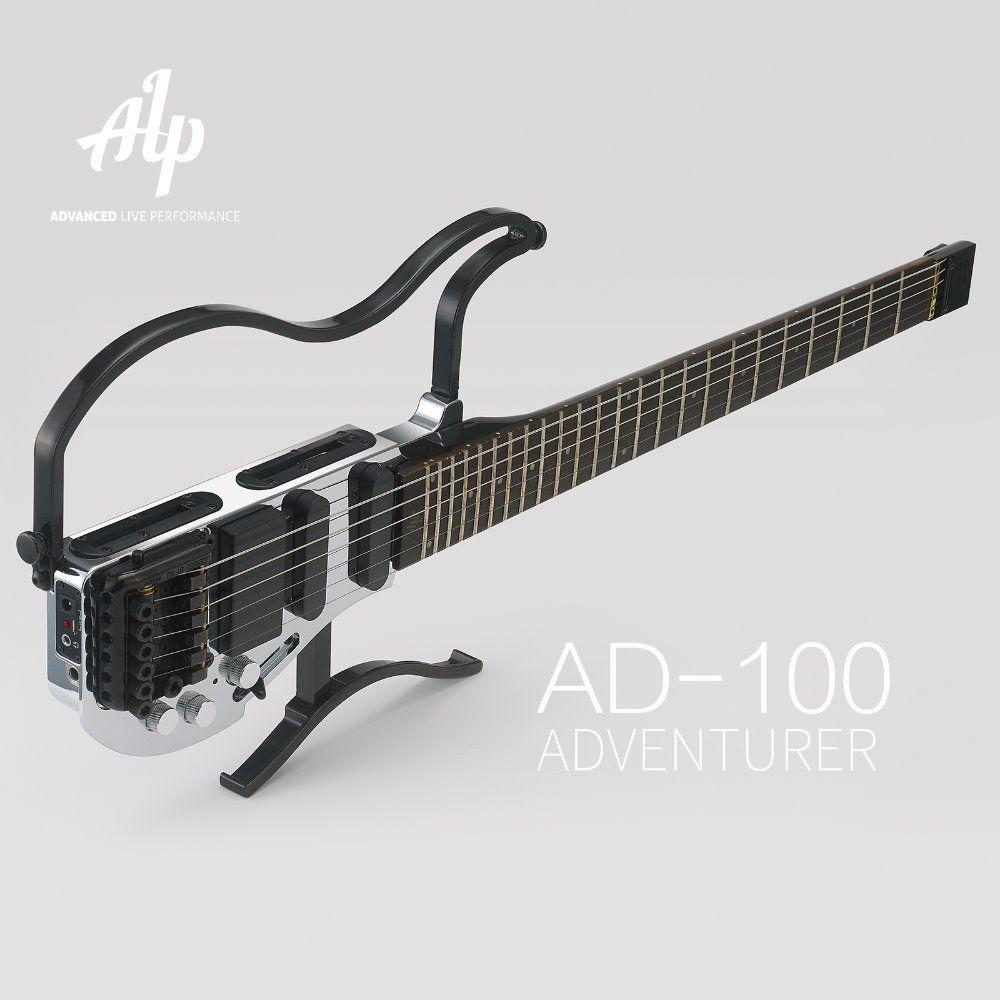 alp headless travel electric guitar guitars except fender gibson and martin guitar best. Black Bedroom Furniture Sets. Home Design Ideas