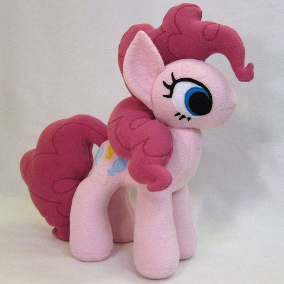 My Little Pony Custom Pinkie Pie Plush by fabricninja on Etsy, $120.00