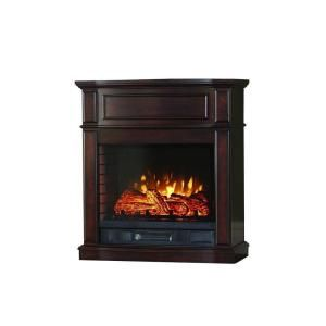 Home Decorators Collection Niya 32 In Ir Electric Fireplace In Dark Cherry 25 898 72 The Home Depot Electric Fireplace Fireplace Home Decorators Collection