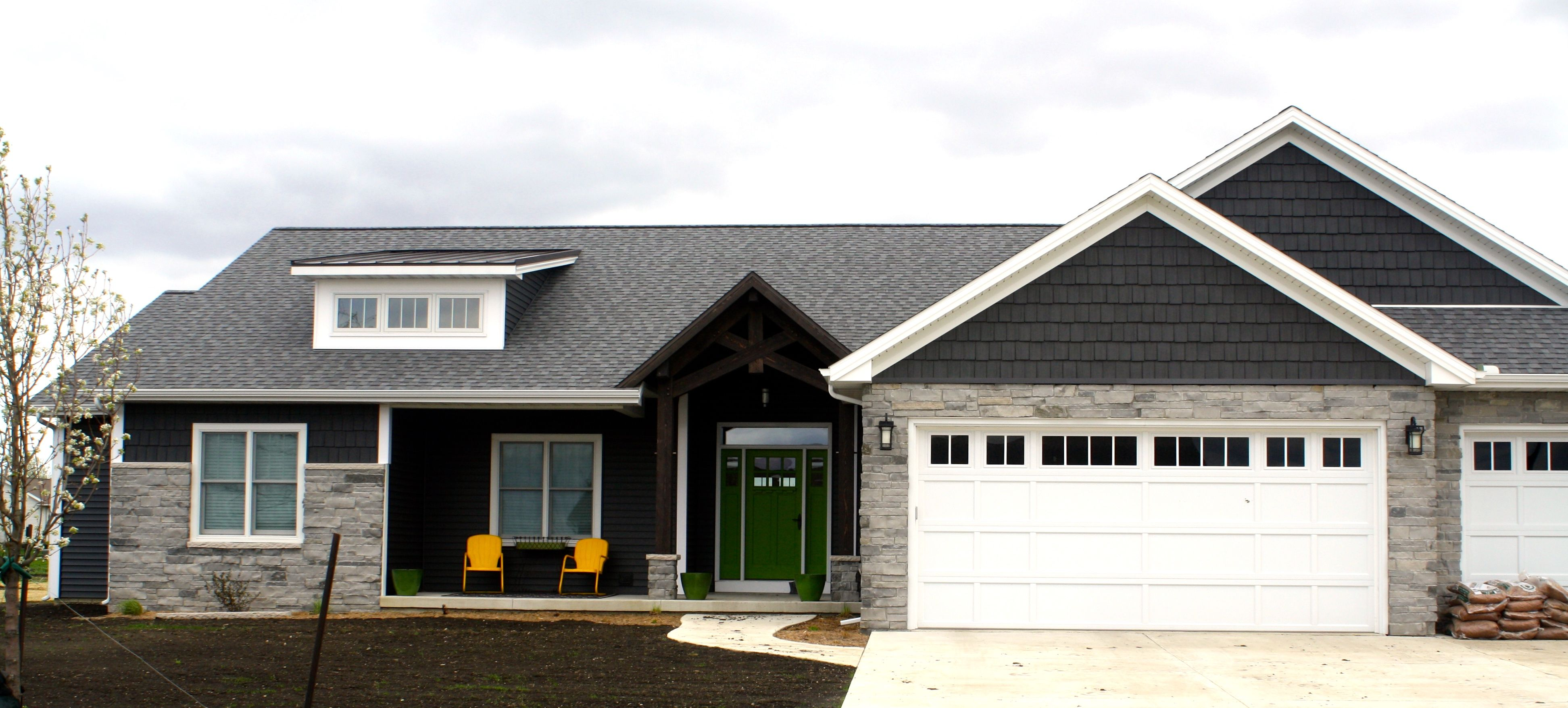Best Image Result For Dark Grey With White Trim Natural 400 x 300