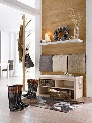 Percheros de estilo escandinavo estilo escandinavo - Percheros para recibidores ...