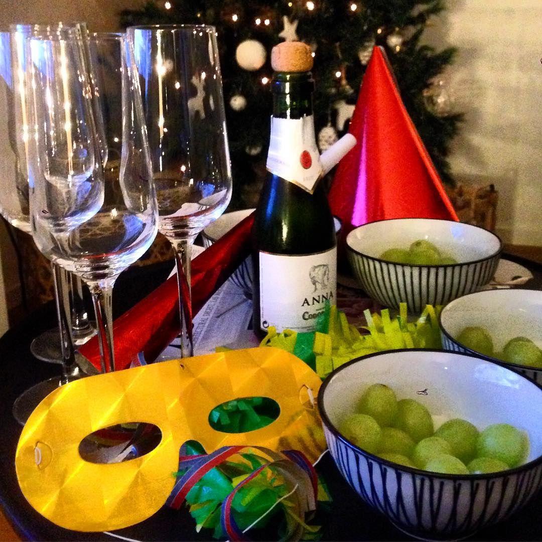Happy New Year!!! 12 grapes + cava Barcelona Spain 10