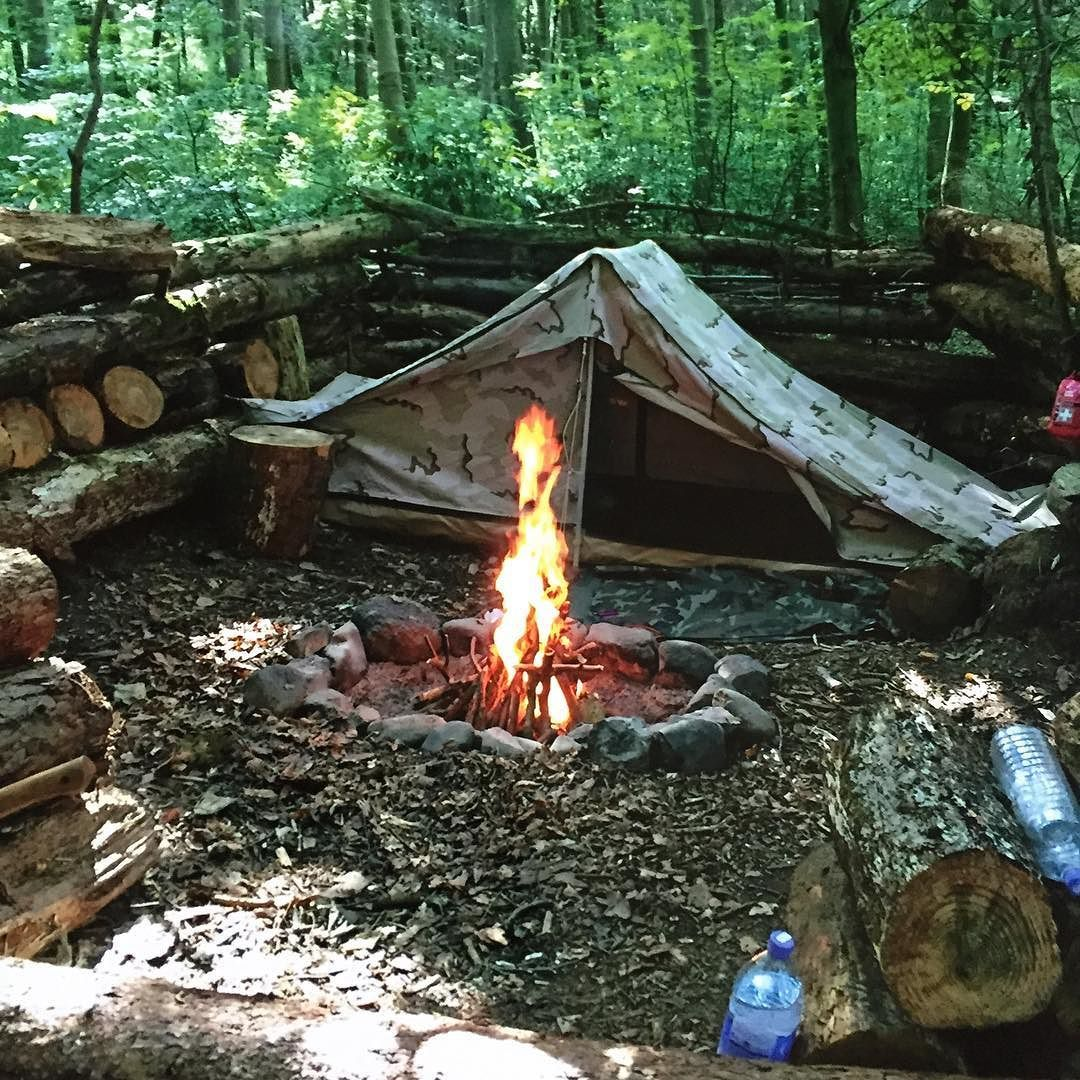 Fort Ann Primitive Camping: French Army Surplus Tent …