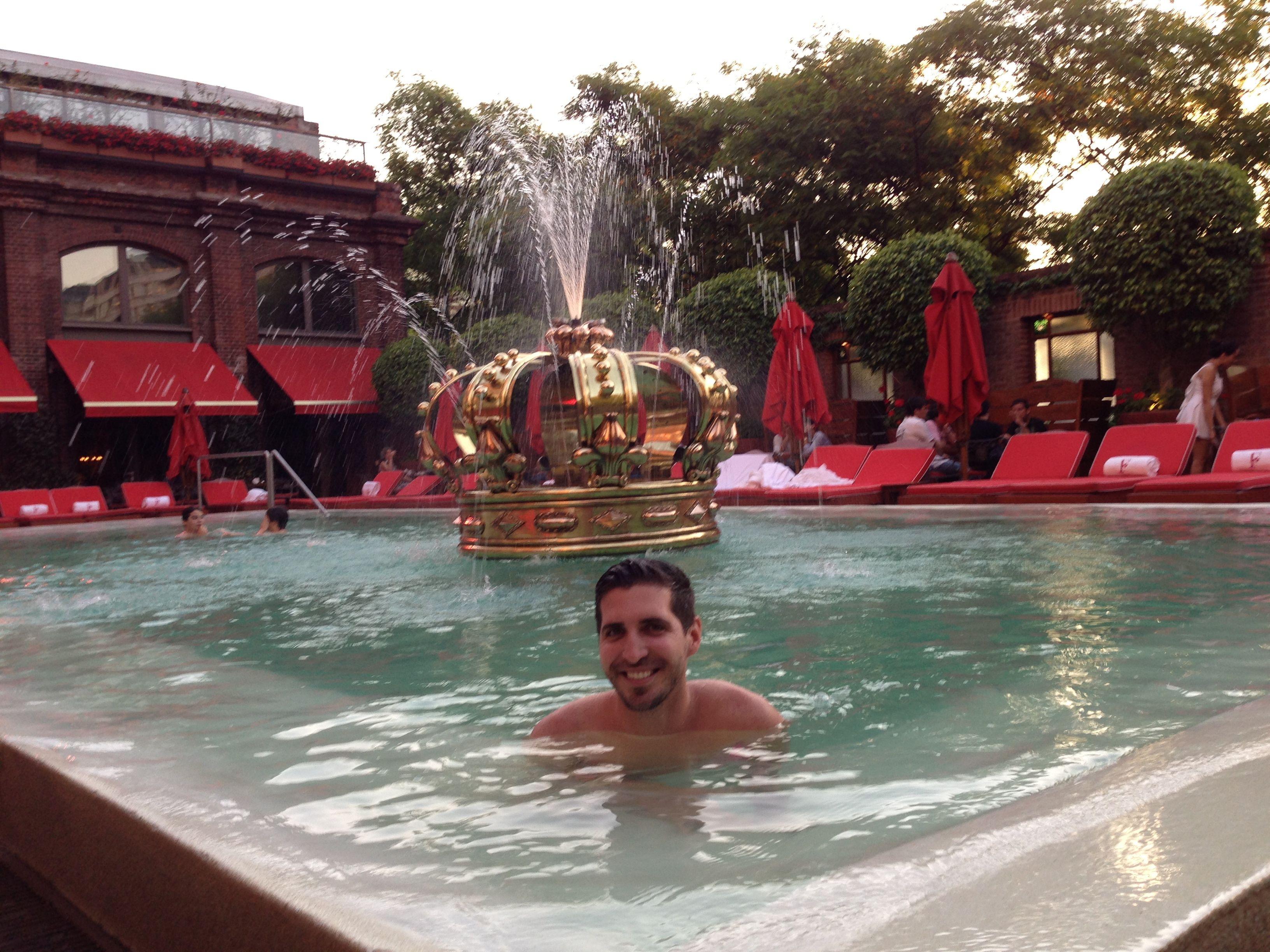 Best pool in Argentina #Faena