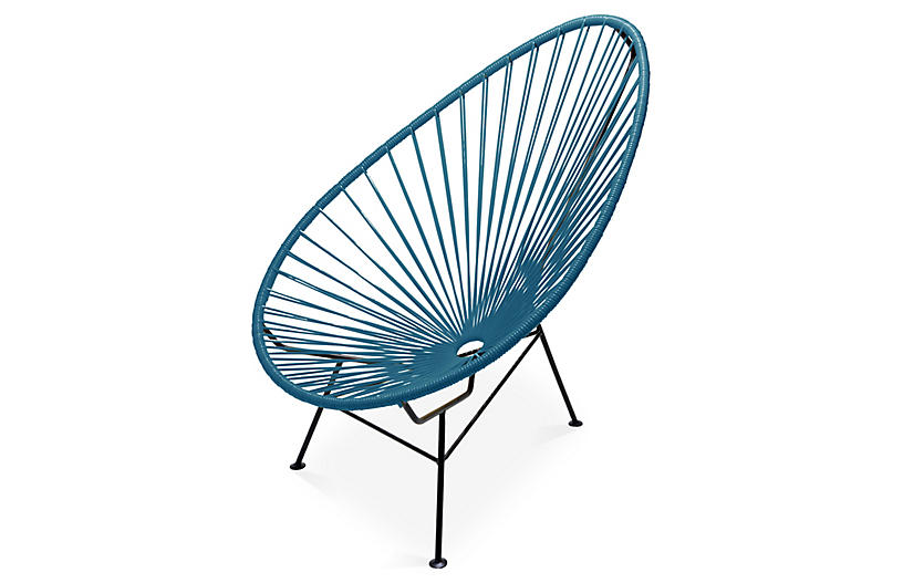 Lounge Outdoor Alfresco Dining Acapulco ChairJungle Green srxQdCBth