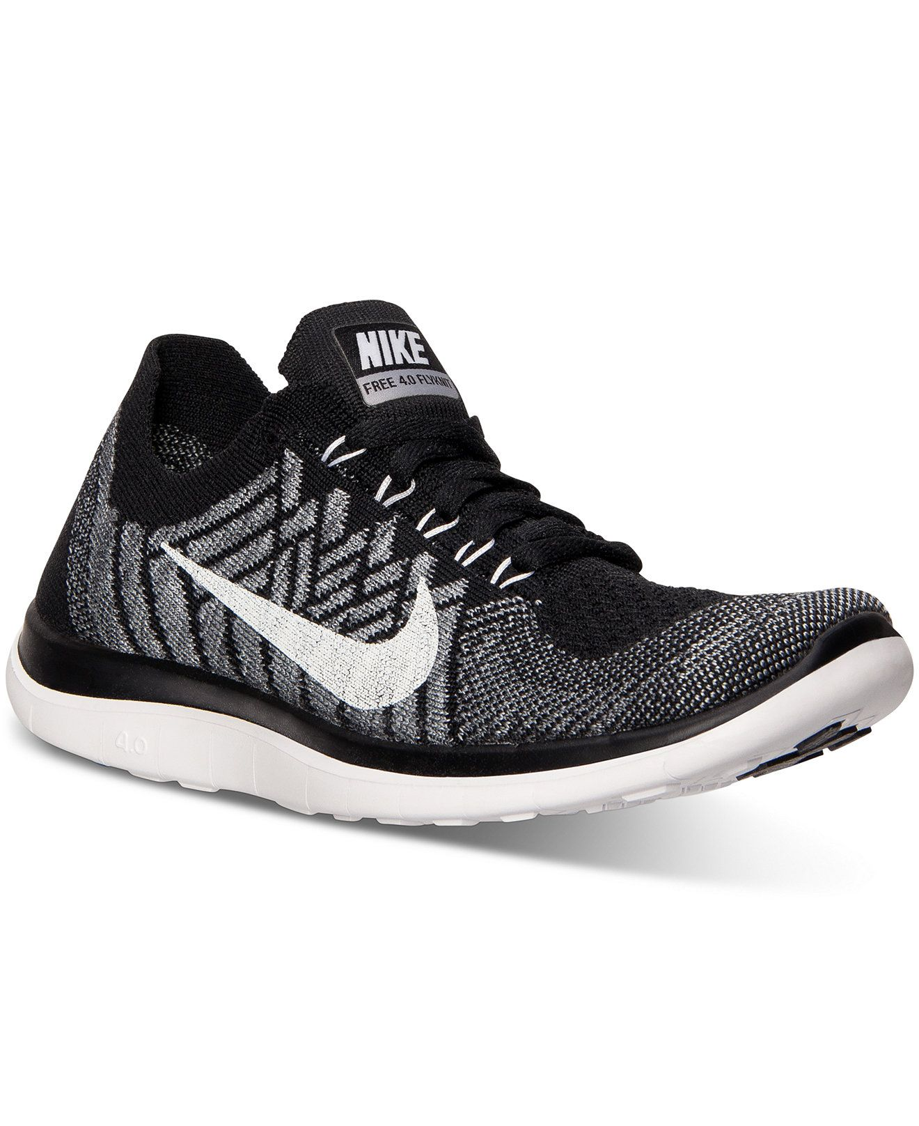 Nike Women s Free Flyknit 4.0 Running Sneakers from Finish Line - Finish  Line Athletic Shoes - Shoes - Macy s 838099ef27