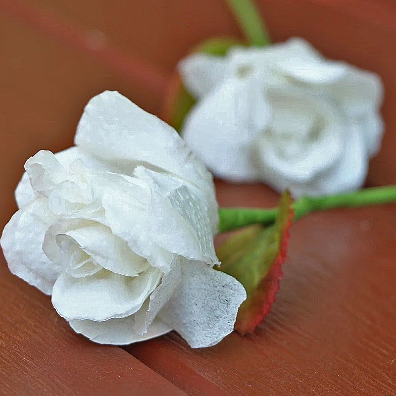 How to make tissue paper rose