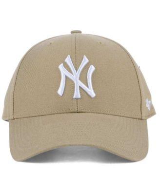 47 Brand New York Yankees Core Mvp Cap Tan Beige Adjustable Yankees Hat New York Yankee Hat 47 Brand
