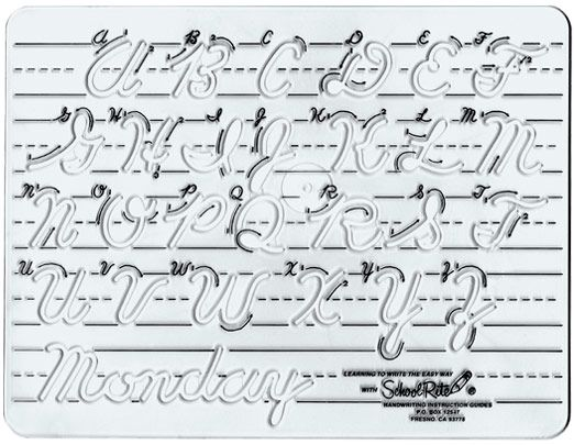 cursive handwriting samples – D Nealian Cursive Handwriting Worksheets