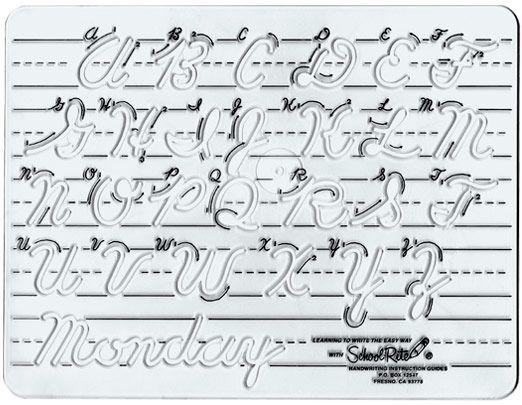 Cursive Handwriting Samples  Handwriting Templates Transitional