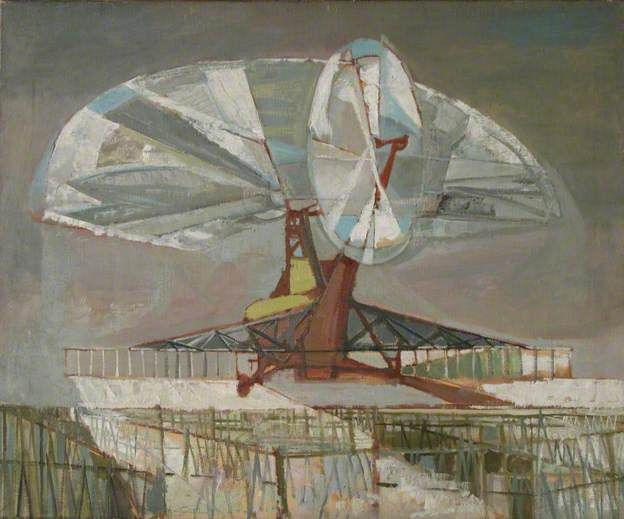 Helicopter, Russell Platt, 1951, exhibited Royal College of Art