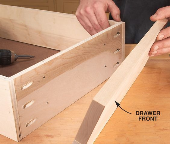 12   Tips for Building Cabinets with PocketHole Joinery - Pocket hole joinery, Popular woodworking, Built in cabinets, Diy woodworking, Learn woodworking, Wood crafting tools - By Brad Holden Many production shops use pockethole joinery to build cabinets because it's fast, easy and efficient  You don't need an armload of pipe clamps  There are no unsightly faceframe nail…
