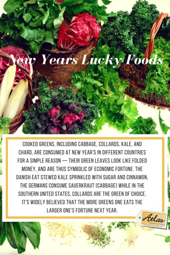 New Year's Lucky Foods 2020 Lucky food, New year menu
