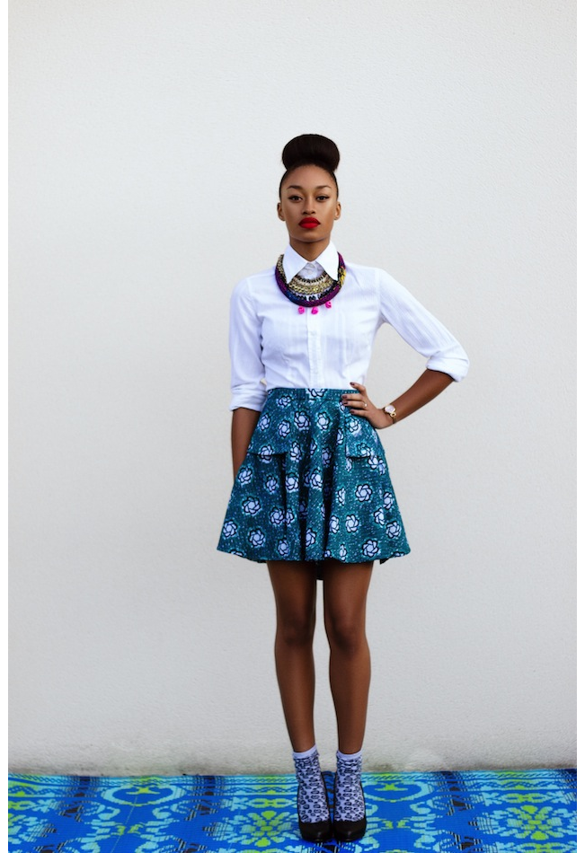 Favorit La Mode By Natacha Baco : wax, chic et urbain | jupes | Pinterest  XC72