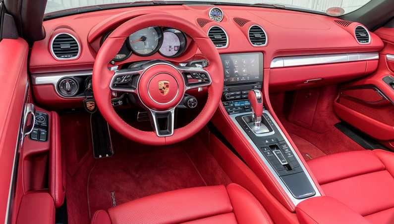 Porsche 718 Boxster Convertible 2.5 S 2d