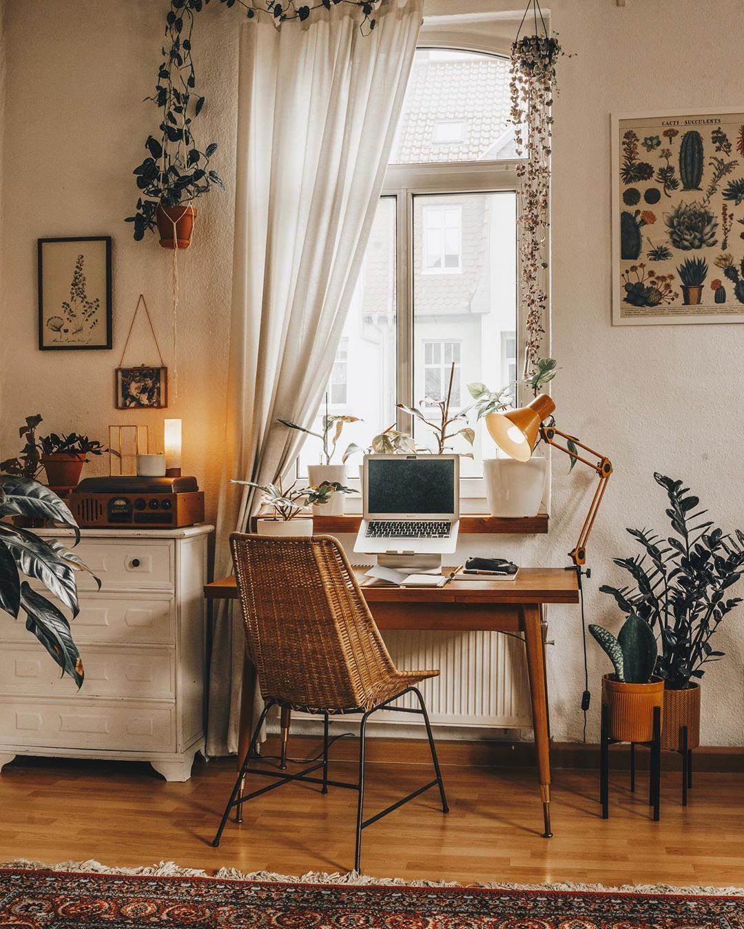 "Photo of Plants 🌿 | Interior 🛋 | Cats 🐈 on Instagram: ""I quickly dusted off my desk today, because tomorrow the seriousness of life will start again 😱 The holidays are over…"" – My Blog"