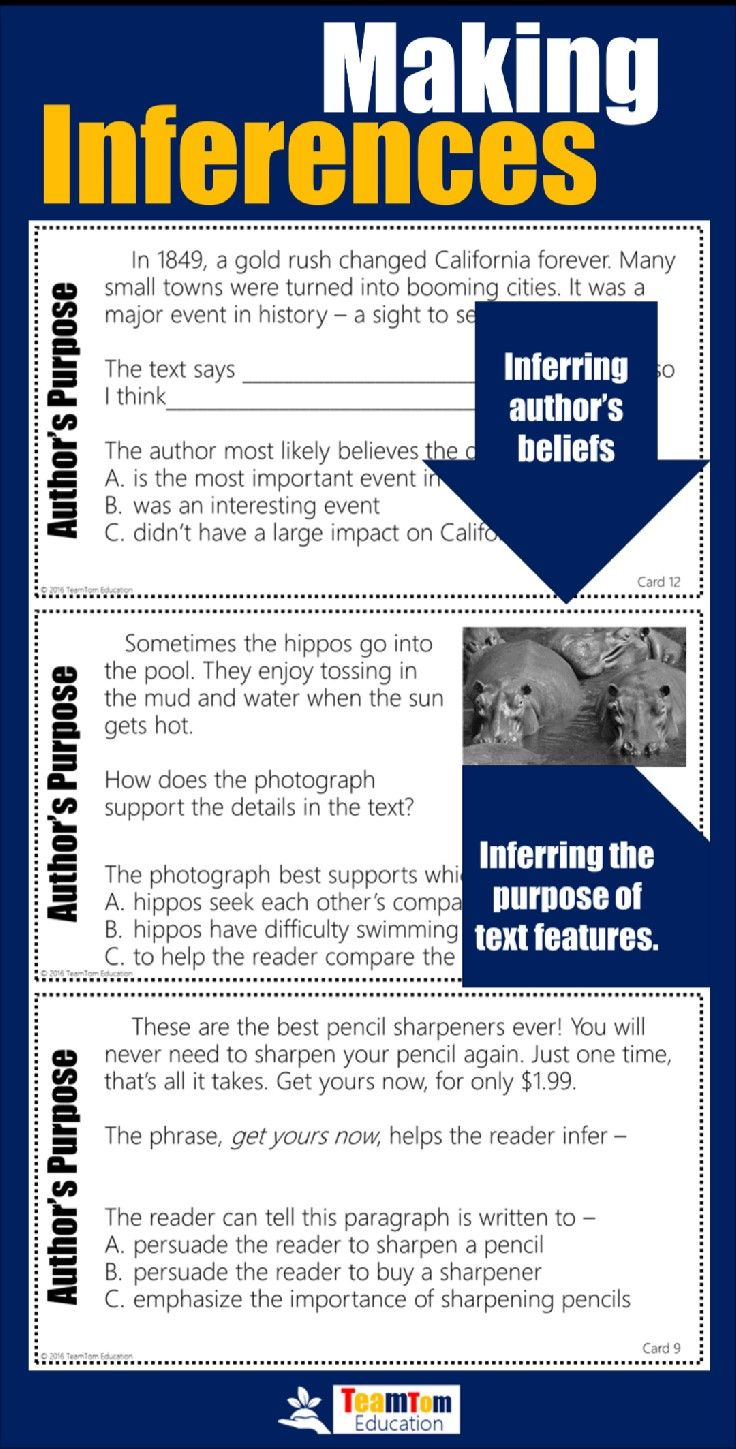 Reading Test Prep Making Inferences In 2018 Teaching Reading