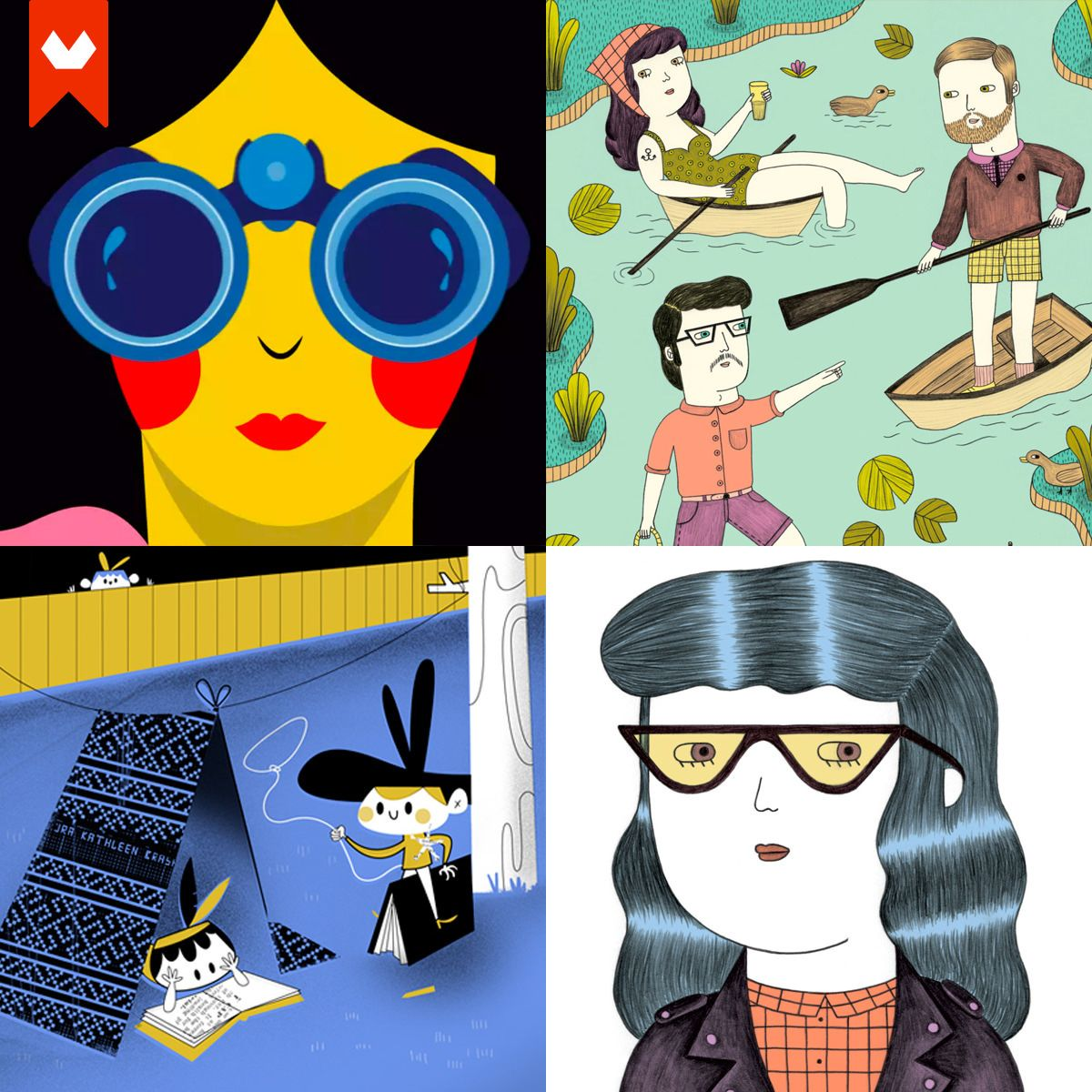 En lo más fffres.co: 15 ilustradoras españolas que debes conocer: Cada vez suenan más nombres femeninos asociados al mundo de la…