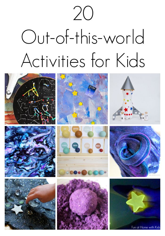 20 Outer Space Themed Activities For Kids Space Activities Activities For Kids Space Preschool