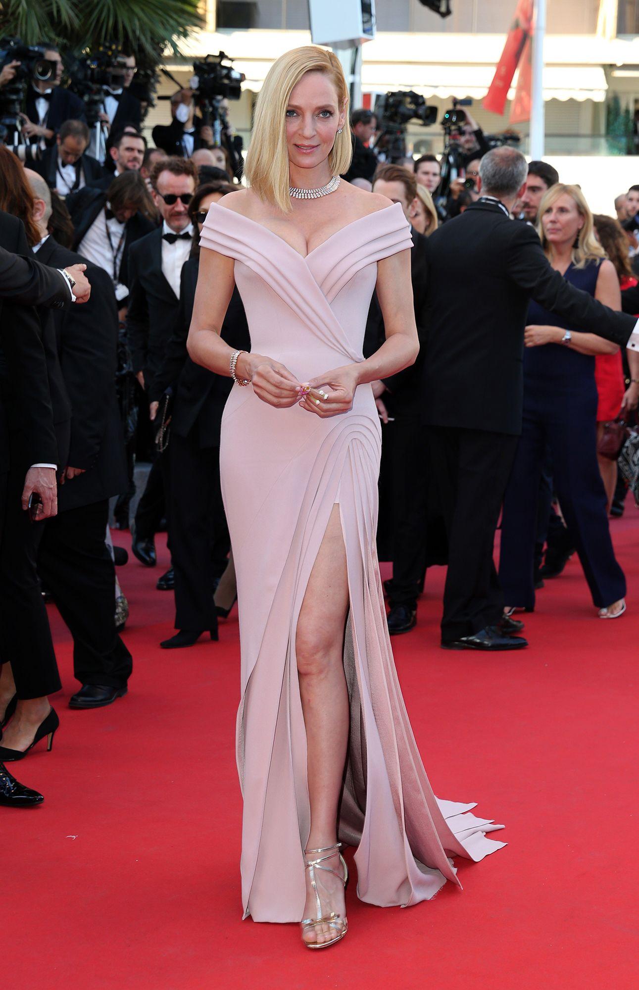 8ed55abebb53 Uma Thurman Festival Di Cannes