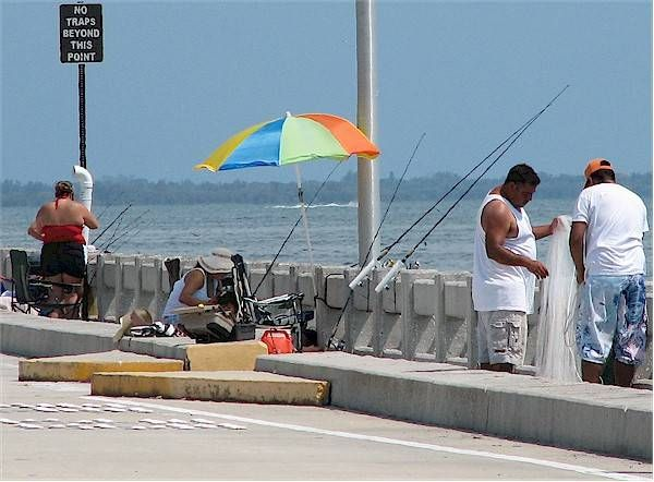 Fishing Skyway Pier State Park By Dwn Henthorn Florida
