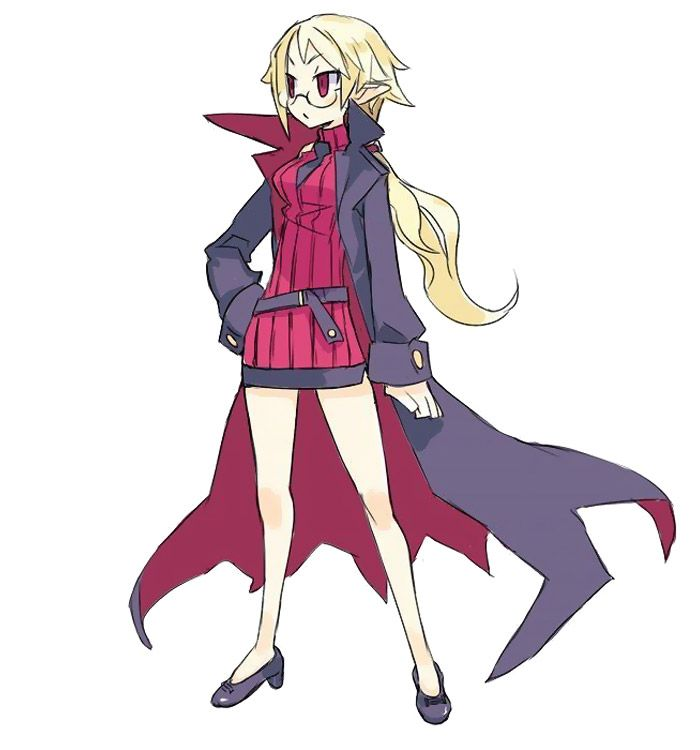 Professor from Disgaea 4: A Promise Unforgotten