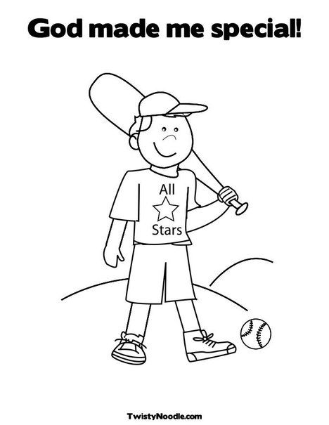 God Made Me Special Coloring Pages Coloring Pages For Boys