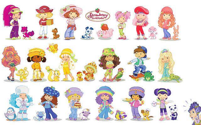 Image Result For Strawberry Shortcake Characters 1980s Strawberry Shortcake Characters Strawberry Shortcake Childhood Memories