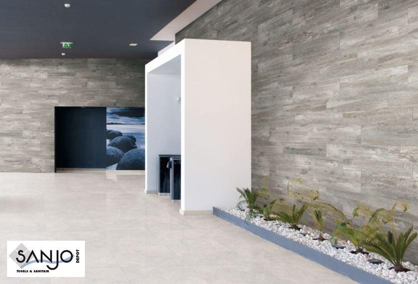 HDC Guyaba Gris houtlook tegel en Cement look tegel verkrijgbaar - glas küchenrückwand fliesenspiegel