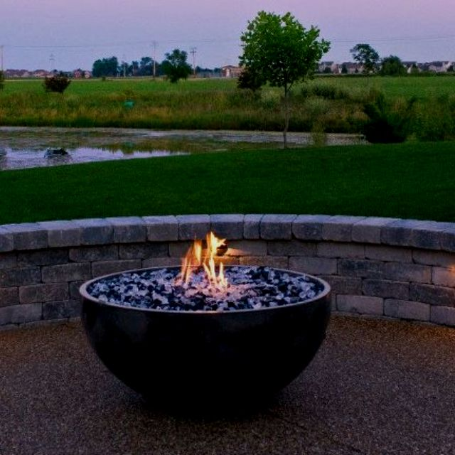 Fire bowl for our patio.