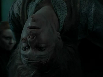 Hogwarts Muggle Studies Teacher Charity Burbage Being Tortured And Consequently Killed By Voldemort For Support Hogwarts Staff Hogwarts Harry Potter Journal