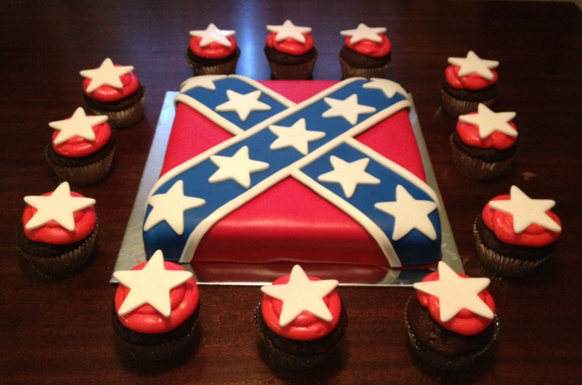 Pictures Of Rebel Flag Birthday Cakes Images