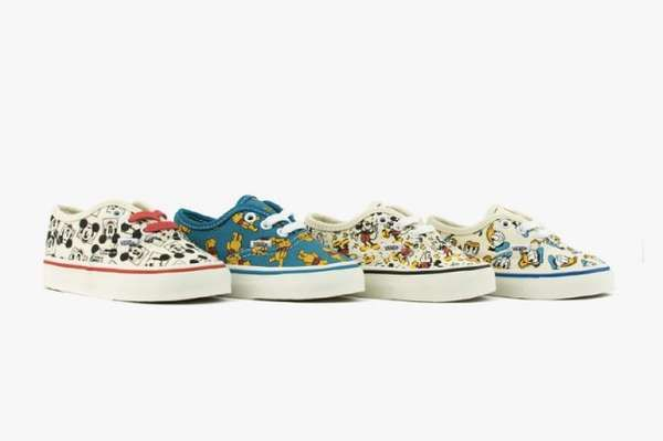 fb5b37327ff3 Vans Disney-themed shoes featuring 2 of Mickey Mouse