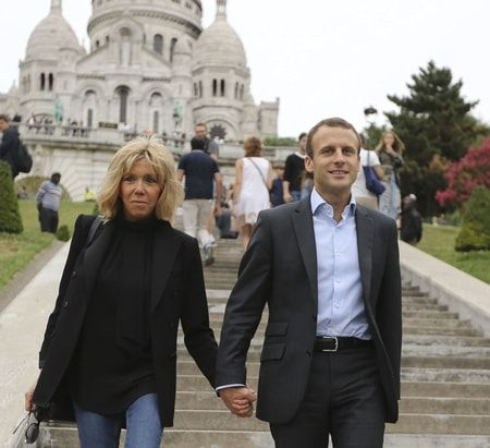 Emmanuel Macron, candidate for the French Presidency was 15 when he first met Brigitte Trogneux who was 39 and his teacher
