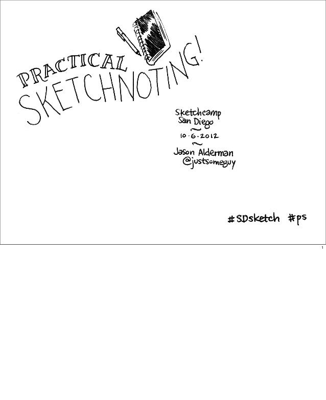 Practical Sketchnoting- if you are seriously interested in learning....check yhis out!