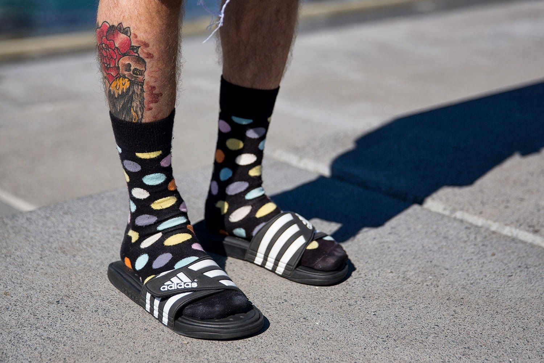adidas socks and slides - Entrega gratis -