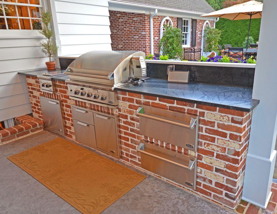 Award Winning Outdoor Living Space 2nd Level Deck Outdoor Bbq