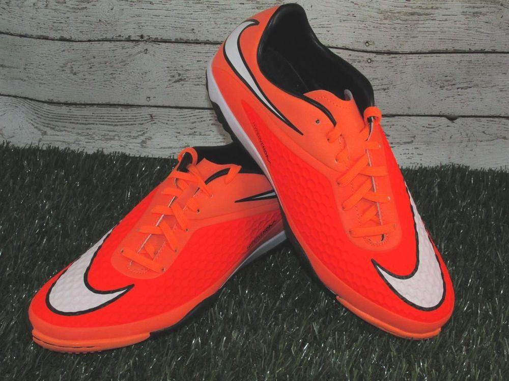 Nike Hypervenom Phelon TF Turf Soccer Shoes Mens Sizes Orange 599846800