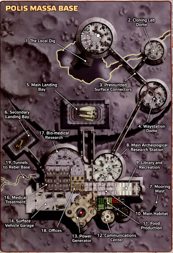 Polis Massa Base | Maps | Star wars rpg, Star wars games