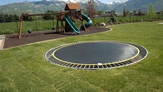 ground level trampoline - so cool but would need to move to another city - Ground Level Trampoline - So Cool But Would Need To Move To Another