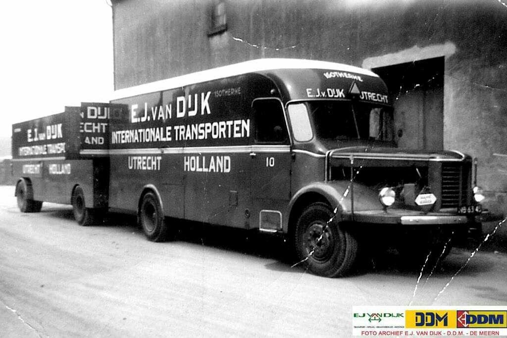 Pin Van Harry Fruitema Op Kromhout Vrachtwagens Melkbussen Utrecht