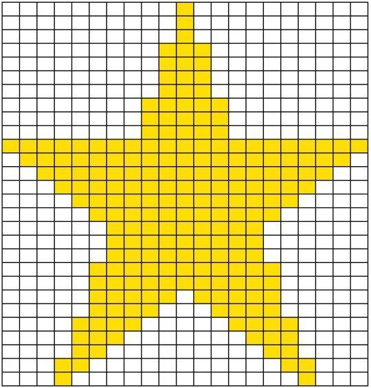 Strick-Stern Zählmuster | Strickanleitungen | Pinterest | Stricken ...