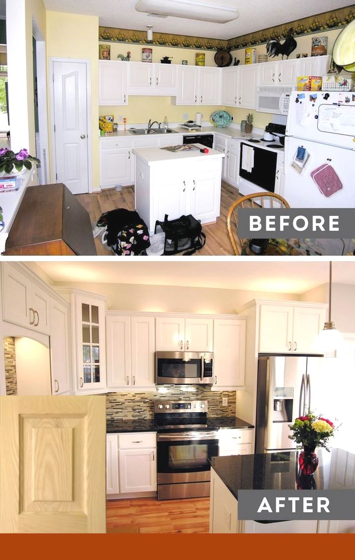 kitchen design ideas off white cabinets #smallkitchenremodeling