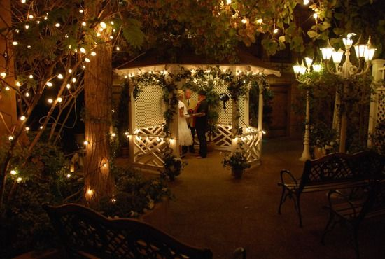 Viva Las Vegas Wedding Chapel Renewed Our Vows In This Gazebo For 7th