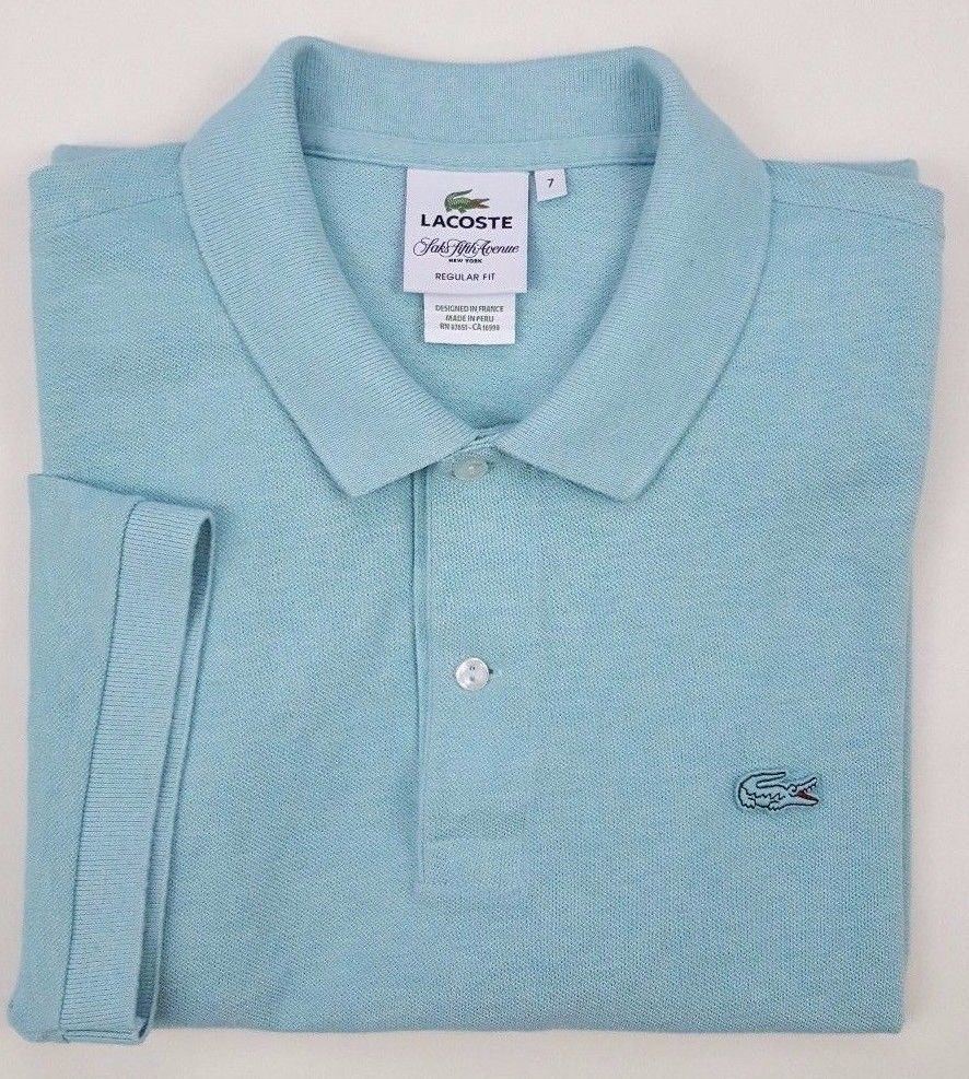 Lacoste polo shirt blue 7 mens gator logo size 2xl recent saks fifth lacoste polo shirt blue 7 mens gator logo size 2xl recent saks fifth avenue man sciox Images