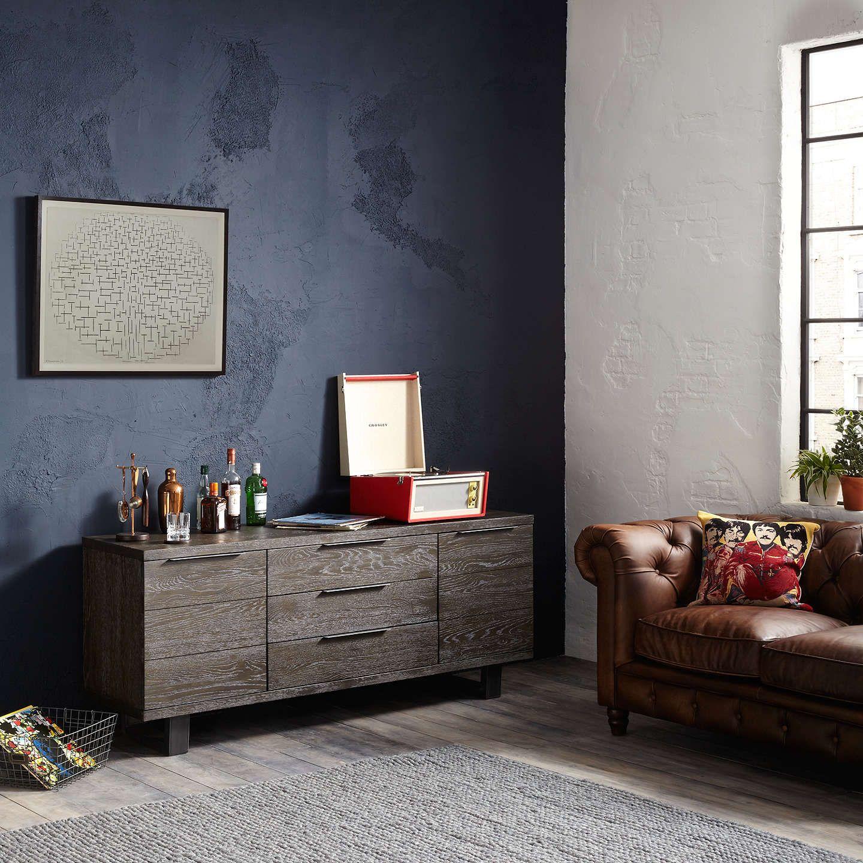 John Lewis & Partners Calia Side Table, Oak | Oak, Wood
