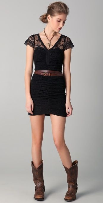 Free People Lace Envy Bodycon Dress thestylecure.com