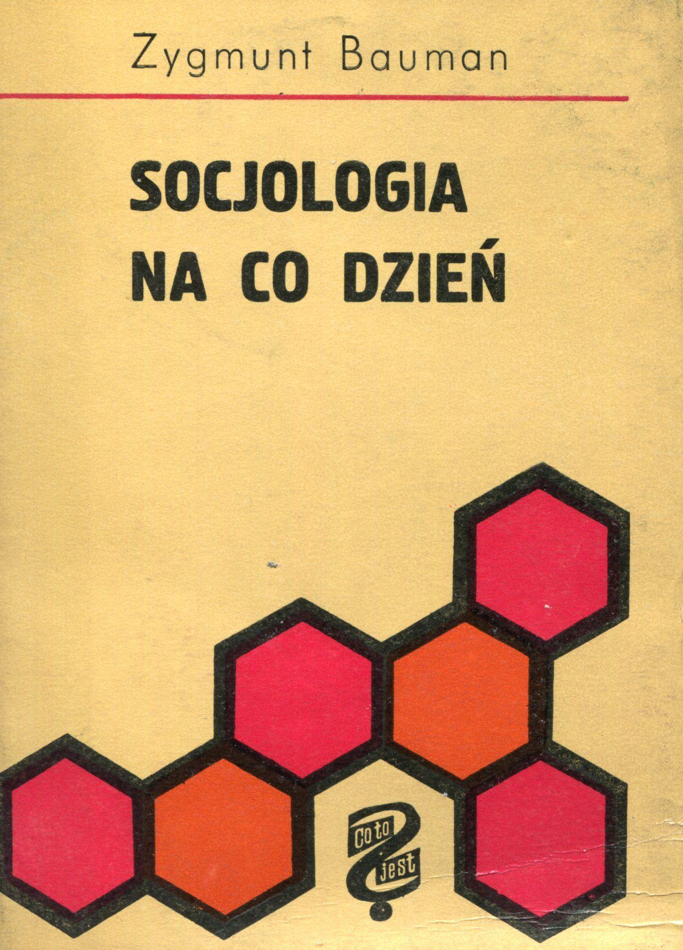 Znalezione obrazy dla zapytania Zygmunt Bauman Socjologia na co dzień