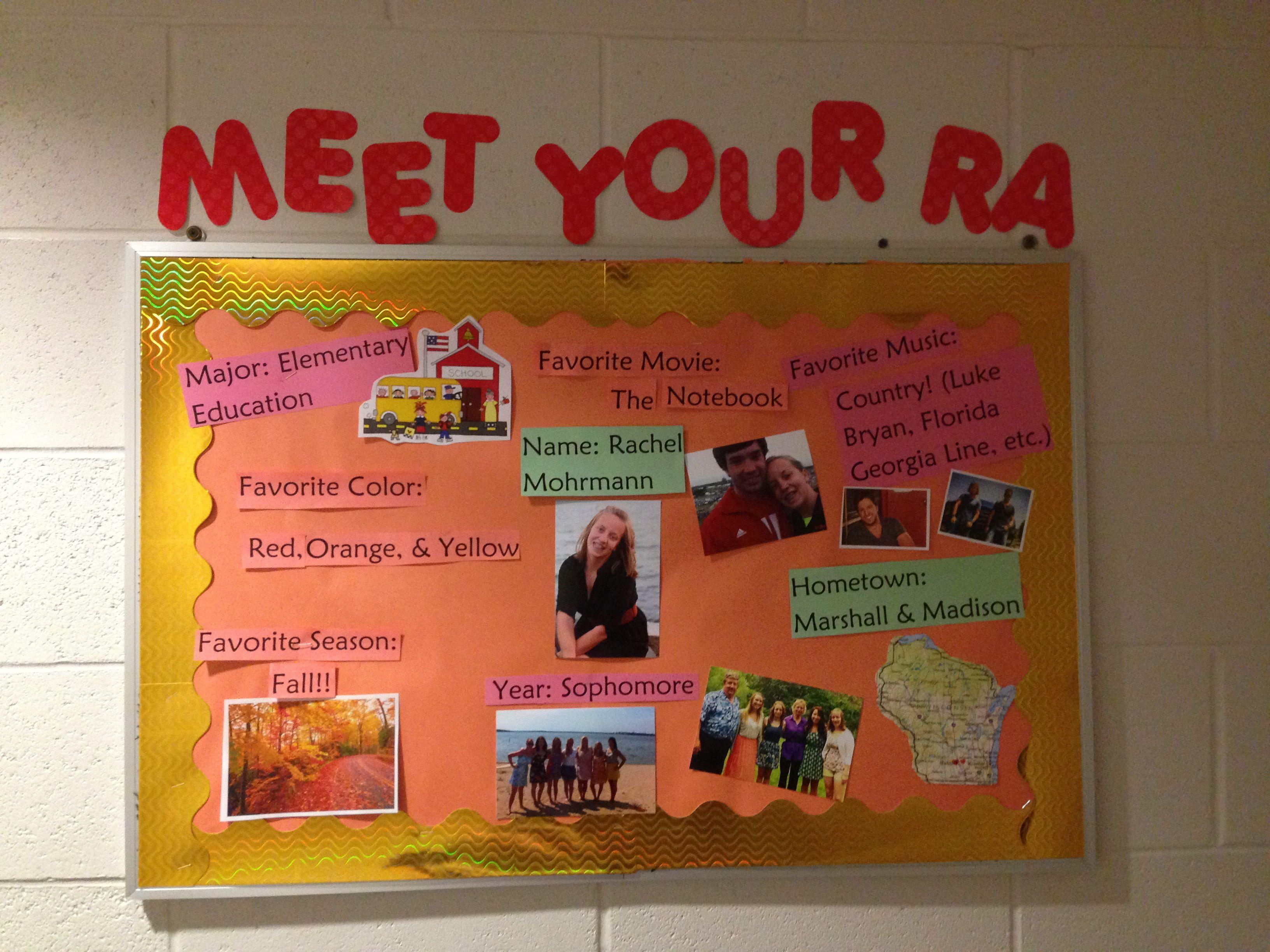 Meet your RA!