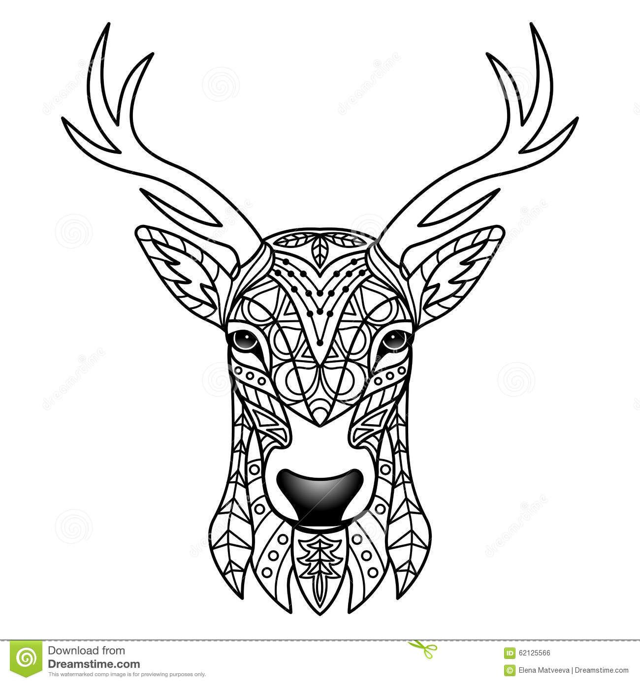 Black and white deer designs google search longboard ideas black and white deer designs google search buycottarizona Images